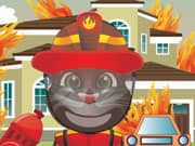 Talking Tom Cat Bombero