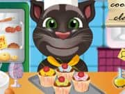 Juego Talking Tom cooking class