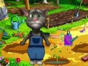Juego Talking Tom Gardener