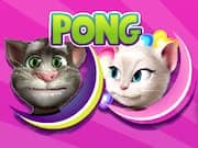 Talking Tom vs Angela Pong