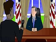 Animacion The George Bush Show 6