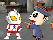 Ultraman Vs Chinese Zombie