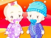 Vestir a Bebes Gemelos