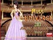 Vestir a Miss Universo