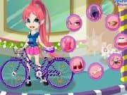 Vestir a Vivian y su bicicleta