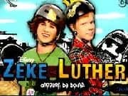Zeke y Luther Repartiendo Donas